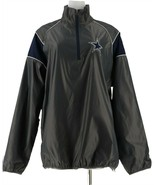 NFL Dallas Quarter Zip Lightweight Pullover Jacket Cowboys M NEW A296154 - $17.79