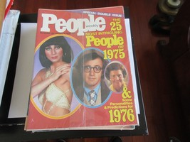 The 25 Most Intriguing People of 1975 , People Magazine , 12/29-1/5/76 ,... - $19.80