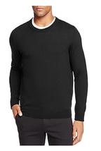 The Men's Store at Bloomingdale's Merino Crewneck Sweater, Black, Size XXL, $88 - $39.59