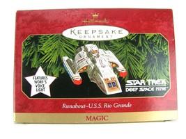 Hallmark Ornament Star Trek Deep Space Nine Runabout U.S.S Rio Grande - $9.85