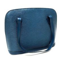 AUTHENTIC LOUIS VUITTON Epi Lussac Tote Bag Shoulder Bag Blue M52285 - $260.00