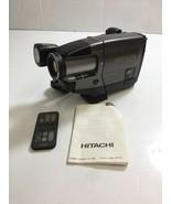 HITACHI VM-E55A 8mm Video Camera Recorder Camcorder Sold Not Working No ... - $18.69