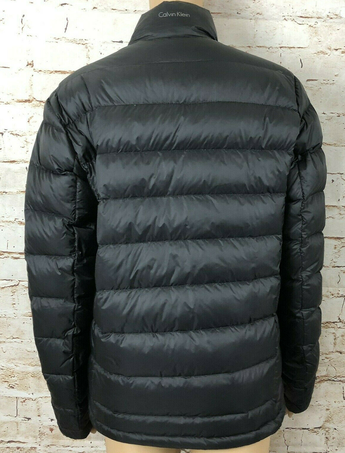 Calvin Klein Puffer Down Jacket Black Packable Lightweight Women's Size XS
