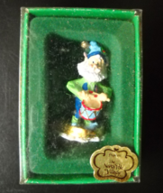 Enesco Christmas Ornament 1989 North Pole Village Popkins Sandi Zimnicki Pewter - $14.99