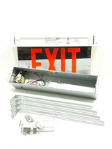 Hubbell LECSRXWAM Exit Sign 120/277  VAC - $47.49