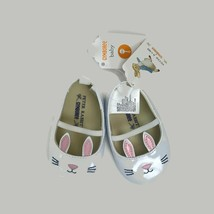 Gymboree Peter Rabbit Beatrix Potter Bunny Garden White Crib Shoes Infan... - $13.98
