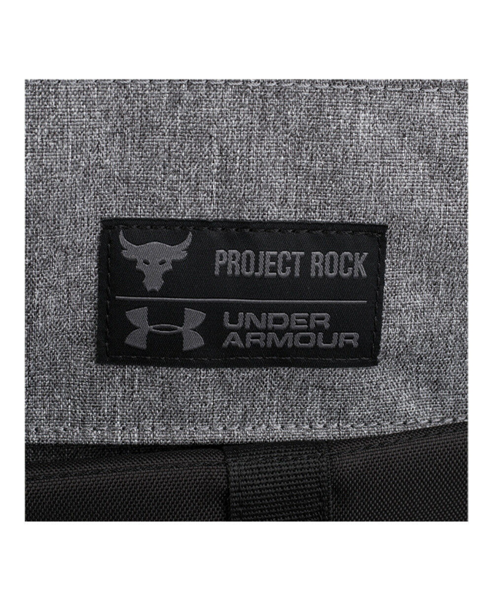 """UNDER ARMOUR UA PROJECT ROCK REGIMENT BACKPACK """"THE ROCK"""" BLACK/GREY NEW W/TAGS image 5"""