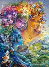 Buffalo Games - Josephine Wall - The Three Graces - Glitter Edition - 1000 Piece - $12.78