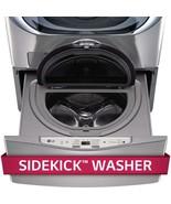 "LG WD100CV - (27"" W x 14"" H) Graphite Pedestal w/ Built-In 1.0 Cu Ft Washer - $404.91"