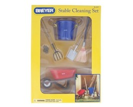Breyer 2477 Stable Cleaning Set very well done traditional size <> - $17.41