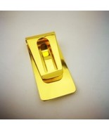 Money Clip Cash Clamp Holder Portable Stainless Steel Money Clip - Gold - $10.99