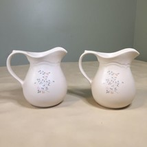 Lot of 2 Pfaltzgraff Remembrance Pitchers 32 ounce 2 Quart - $12.86