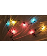 NOMA Expressions Bubble Lights Rare Blue 7 C7 Christmas Lites Clear Style - $29.69