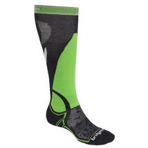 Bridgedale Merino Fusion Vertige Merino Wool-Mid Calf Ski Socks MENS LAR... - $11.16