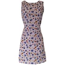 Vintage Grunge Dress Y2K 90s 00s Lavender Ditsy Floral Size Small - $46.26