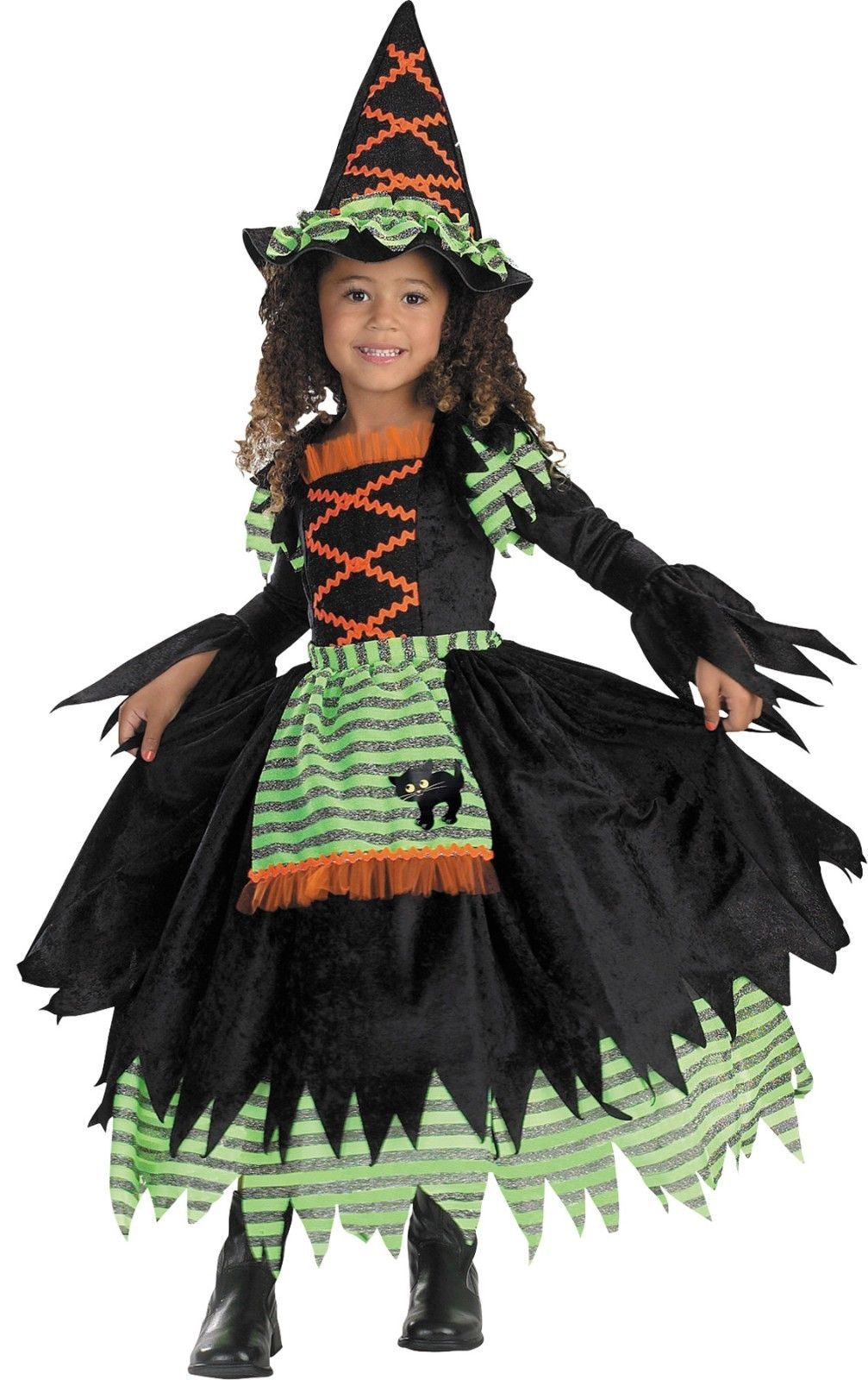 Toddller 3T-4T Story Book Witch Costume by Disguise/NWT