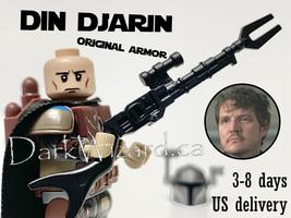 Din Djarin the mandalorian Minifigure Star Wars  - $4.50