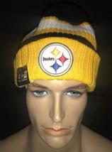 New Era Pittsburgh Steelers Rib Start Skully Beanie - $13.66