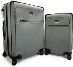 Tumi Larkin Jess Short Trip Expandable Grey Suitcase with free matching ... - $915.75