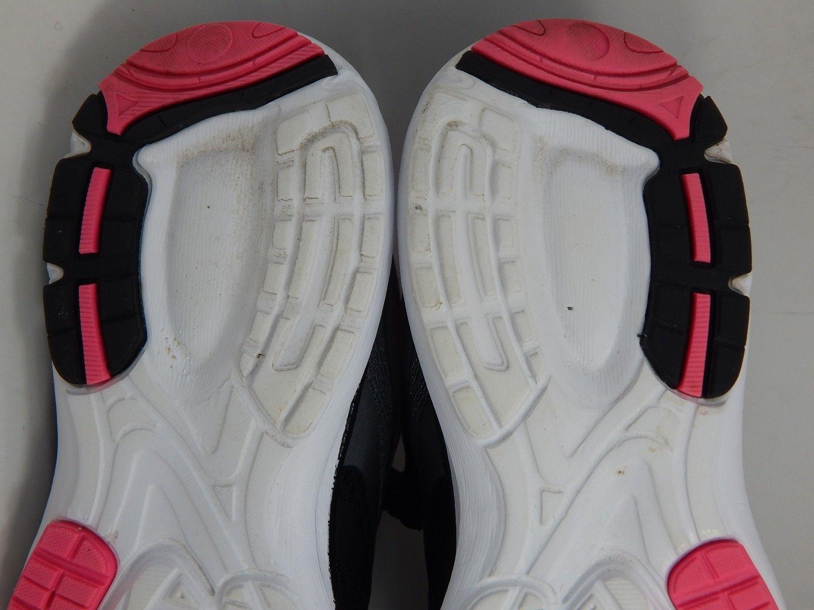 LA Gear Honey Women's Running Shoes Size US 8 M (B) EU 40 Black Gray Pink