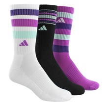 ADIDAS outdoor ClimaLite Retro II Socks - 3-Pack,Quarter Crew O/S(Shoe S... - $13.96
