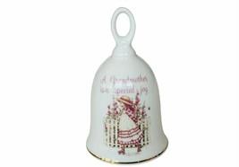 Grandmother Grandma American Greeting Dinner Bell Porcelain figurine dec... - $19.75