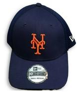 NWT New York Mets New Era 39Thirty Meshback Logo Flex-Fit Size S/M Hat  - $22.72