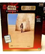 HASBRO STAR WARS EPISODE 1, 300 XL  PIECE JIGSAW PUZZLE, MOVIE POSTER - $5.69
