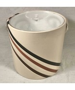VTG 1970S 80S LUCITE TOP & HANDLE DISCO ICE BUCKET HOME BAR ACCESSORY - $25.73