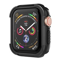 UMTELE Compatible with Apple Watch 4 Case 44mm 2018, Shock Proof Protect... - $13.97