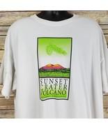 Sunset Crater Volcano Mens 3x White Tee Shirt Short Sleeve T-Shirt Souvenir - $29.99