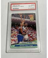 1992 FLEER U;TRA SHAQUILLE O'NEAL PSA NEAR MINT 8 #328 (MR) RC ROOKIE CARD - $98.99