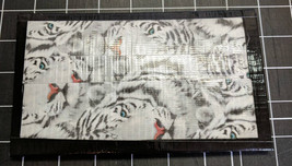 White tiger//trifold//clutch//wallet - $8.00