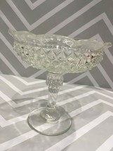Diamond Point by Indiana Glass Candle Holder - $14.85