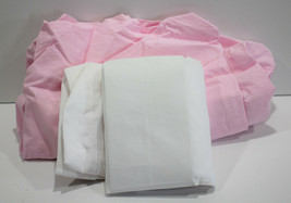 Circo 2 Pack White Pink Play Yard Fitted Sheets  - $14.49