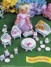 "7-1/2"" Fashion Doll Beach Playtime Summer Teatime Slumber Party Crochet Pattern image 4"