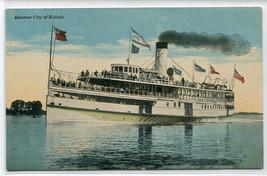 Steamer City of Toledo 1910c postcard - $6.93