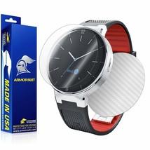 ArmorSuit MilitaryShield Alcatel Onetouch Smartwatch Screen + White Carbon Skin - $29.99