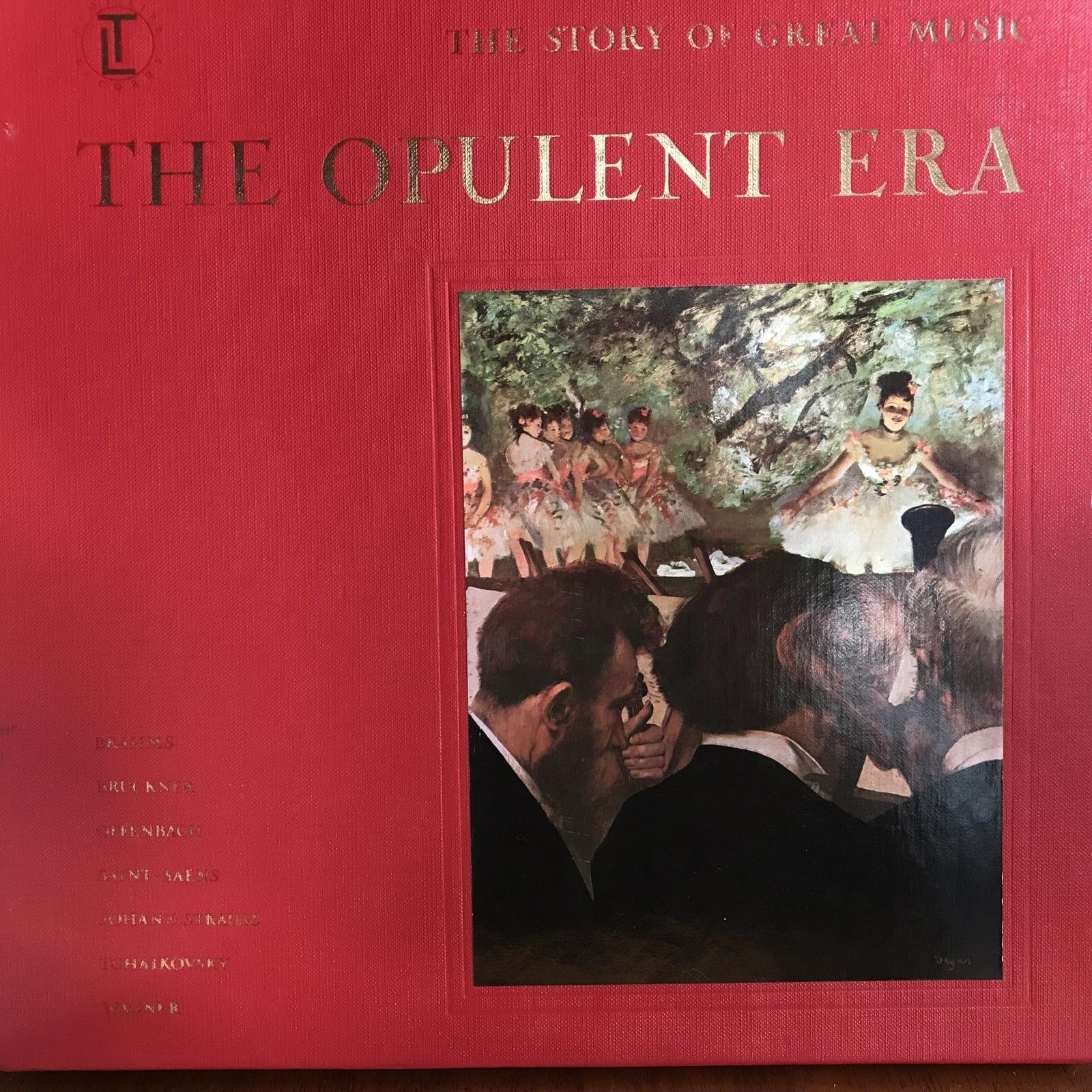 Primary image for Opulent Era Time Life Story Great Music 4 Record Set book listening guide 142
