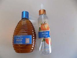 Bath and Body Works Spiced Pumpkin Cider 6 oz Fine Fragrance Mist and 10... - $24.77
