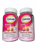 2 Caltrate Bone Health Gummy Bites 50 Ct Blk Cherry Orange Strawberry ex... - $29.69