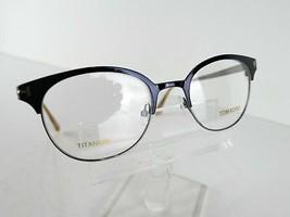 Tom Ford TF 5382 (090) Shiny Navy TITANIUM 50 x 19 145 mm Eyeglass Frames image 2