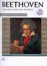 Beethoven: The First Book for Piano (Alfred Masterwork Edition) - $9.95