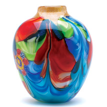 Peacock Decor Vase, Home Orange Small Cheap Glass Vases Cheap For Center... - $79.41