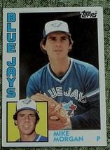 Mike Morgan, Blue Jays,  1984  #423 Topps  Baseball Card GD COND - $0.99
