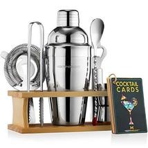 Mixology Bartender Kit with Stand | Bar Set Cocktail Shaker Set for Drin... - $33.97