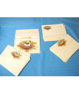 Regency 7 Note Cards, 20 Stationery Folded Sheets & Envelopes Spring Bir... - $12.25