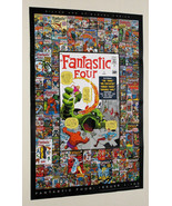 Kirby 3x2 Fantastic Four Marvel Comic poster 1:Spiderman/Silver Surfer/T... - $49.99