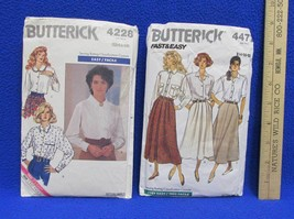 Skirt Shirt Sewing Pattern Butterick Size 12 - 18 Misses Womens Vintage ... - $6.92