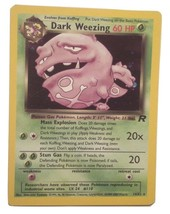 Pokemon Card - Dark Weezing - (14/82) Team Rocket Set Rare Holo ***NM*** - $2.99